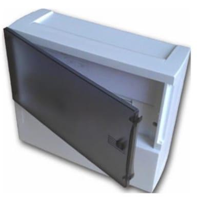Quadro elettrico vuoto a parete 4 moduli IP40 SCHNEIDER bianco