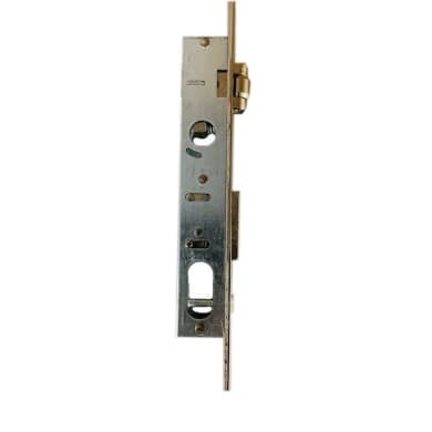 Serratura a incasso cilindro per cancello o rete, entrata 1.5 cm, interasse 0 mm
