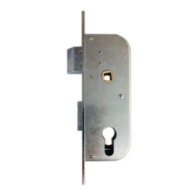 Serratura a incasso cilindro per cancello o rete, entrata 3 cm, interasse 70 mm