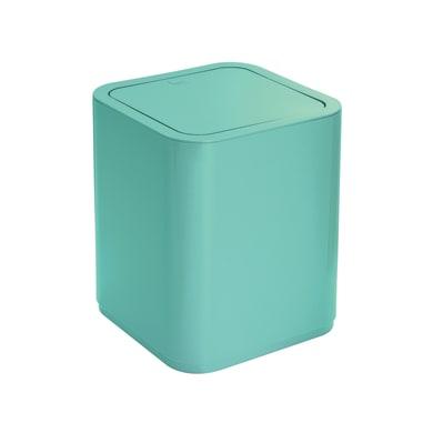 Pattumiera da bagno push gettacarta GEDY ACQUAMARINA 8 Lin plastica