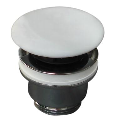 Piletta standard per lavabo PILETTA C/COPRIPILETTA CERAMICA click-clack