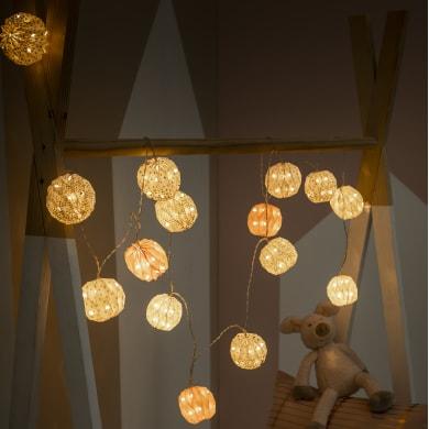 Ghirlanda Kim 15 lampadine 4.8 m IP20 INSPIRE