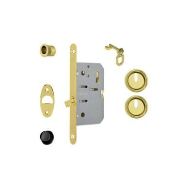 Kit montaggio per porta scorrevole 168 x 16 mm