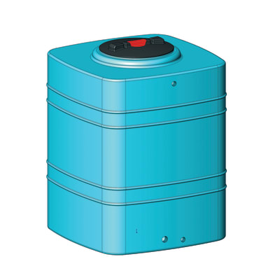 Serbatoio cubico 500 lt blu 500 L