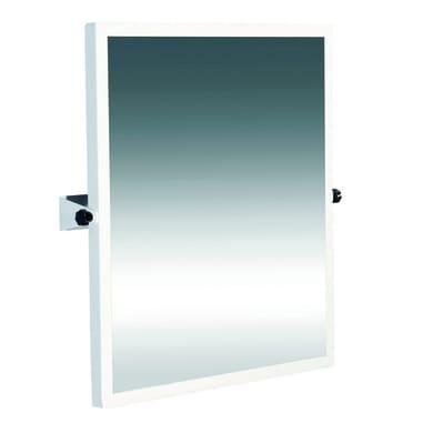 Specchio in acciaio L 64 x H 65 cm