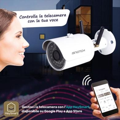Telecamera da esterno wi-fi ISNATCH