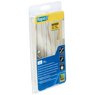 Stick di colla a caldo RAPID Colla a caldo in stick colore: giallastro L 190 mm Ø 12mm mm 250 g