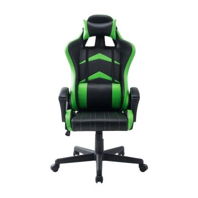 Sedia da gioco con braccioli Jerez verde