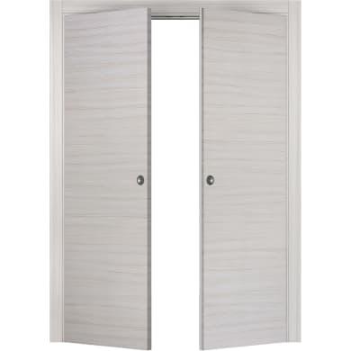 Porta per armadio Oxford riso L 120 x H 210 cm apertura a destra e sinistra