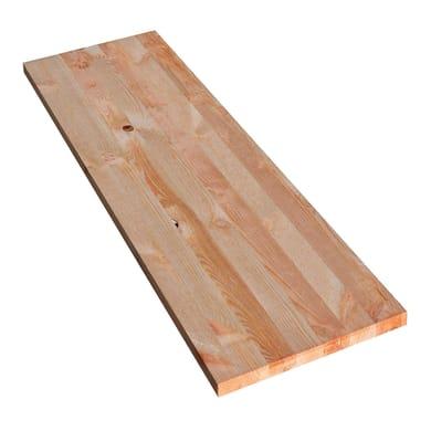 Tavola Legno massello pino 1° scelta 120 x 40 cm Sp 18 mm