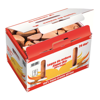 Legna in faggio scatola 0.028 m³