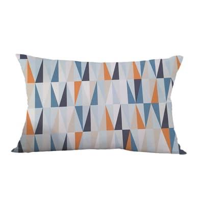Fodera per cuscino Stoccolma blu 30x50 cm