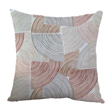 Fodera per cuscino Vortex rosa 40x40 cm