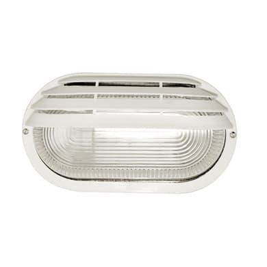 Applique Cesena in plastica, bianco, E27 MAX60W IP44