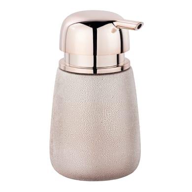 Dispenser sapone Glimma dosasapone in ceramica oro rosa oro rosa