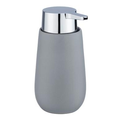 Dispenser sapone Badi dosasapone in ceramica grigio grigio