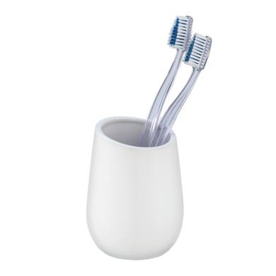 Bicchiere porta spazzolini Badi bicchiere p/spazz. ceramica bianco in ceramica bianco