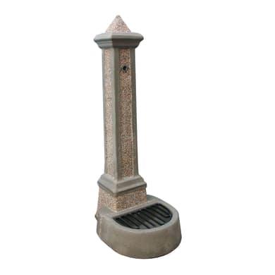 Fontana decorativa DUOMO in cemento H 100 cm, 35 x 48 cm