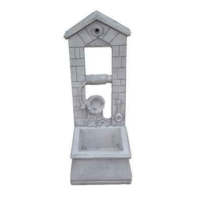 Fontana decorativa SIRMIONE in cemento H 93 cm, 37 x 40 cm