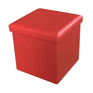 Pouf rosso