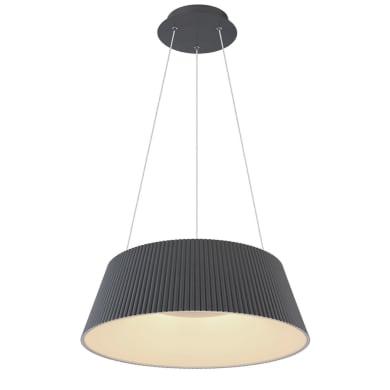 Lampadario Moderno Panda LED integrato nera, in metallo