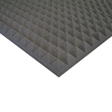 Pannello fonoassorbente piramidale 1 x 1 m, Sp 50 mm