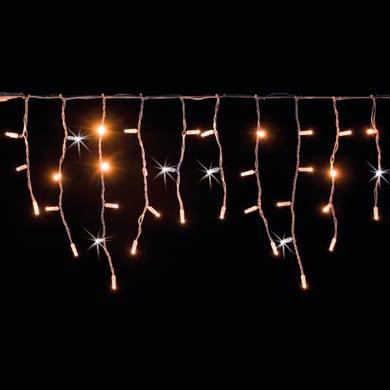 Tenda luminosa 300 lampadine led bianco caldo H 180 x L 345 cm
