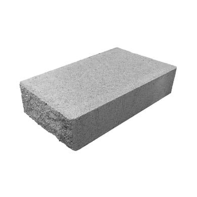 Copertina in cemento Tango  H 7.5 x L 18.75 x P 33 cm