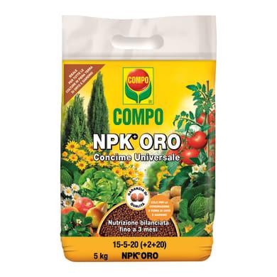 Concime universale granulare COMPO COMPO NPK ORO 5 Kg