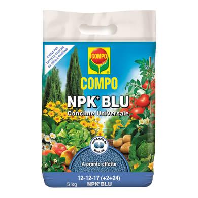 Concime universale granulare COMPO COMPO NPK BLU 5 Kg