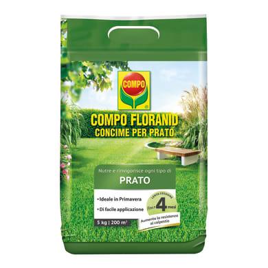 Concime per il prato granulare COMPO COMPO FLORANID Prato 5 Kg