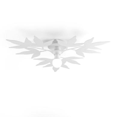Plafoniera classico Birdie multicolore, in vetro, 2  luci