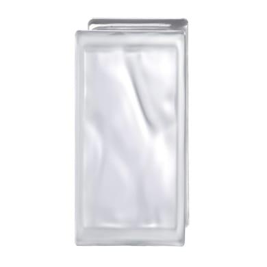Vetromattone BORMIOLI trasparente satinato H 19 x L 9 x Sp 8 cm 6 pezzi