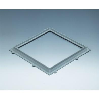 Vetromattone grigio opaco H 1 x L 22 x Sp 22 cm 10 pezzi