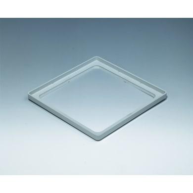 Vetromattone grigio opaco H 2 x L 19.6 x Sp 19.6 cm 10 pezzi