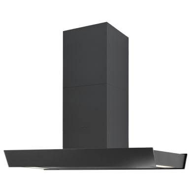 Cappa ad isola a parete 4207 SILVERLINE  nero L 90 cm