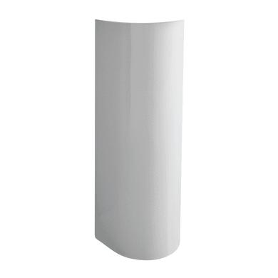 Colonna per lavabo full-remyx H 70 cm in ceramica bianco