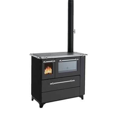 Cucina Betty 45 nero 5 kW