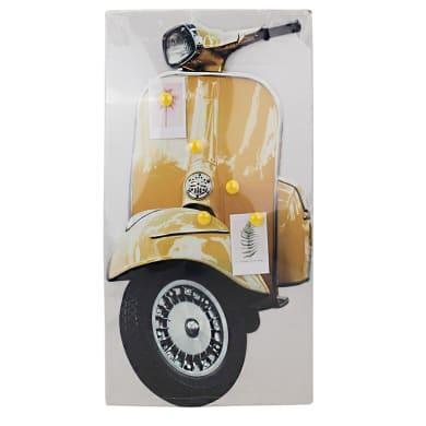 Lavagna magnetica cancellabile magnetica metal moto multicolor 56x25 cm