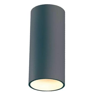 Plafoniera Sirio LED integrato in alluminio, grigio, 12W 700LM IP54