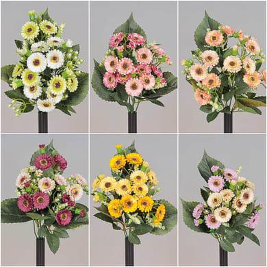 Composizione floreale H 25 cm