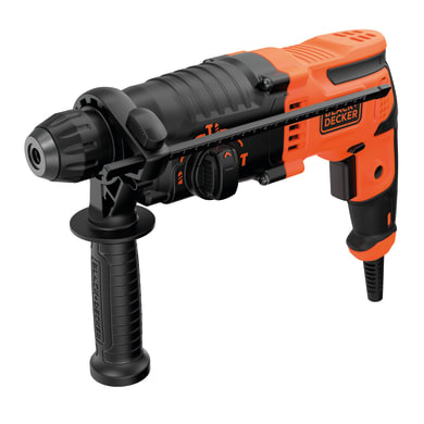Martello combinato BLACK + DECKER Martello Tassellatore/Scalpellatore SDS Plus 1600 giri/min 650 W