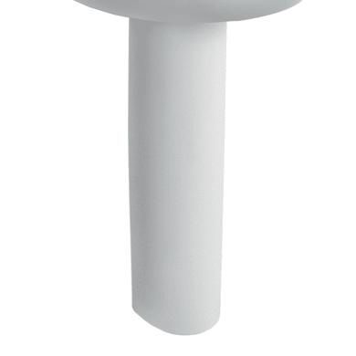 Colonna per lavabo selnova pro H 71 cm in ceramica bianco