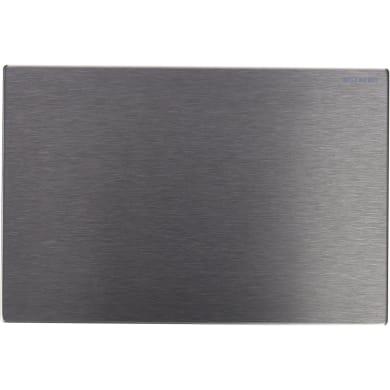 Placca di comando per wc sospeso SIGMA acciaio spazzolato