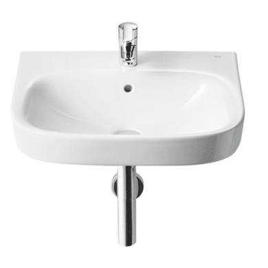 Lavabo sospeso ovale DEBBA L 60 x H 17 x P 48 cm in ceramica bianco