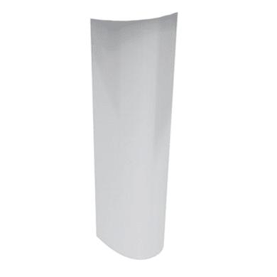 Colonna per lavabo idyl H 70 cm in ceramica bianco