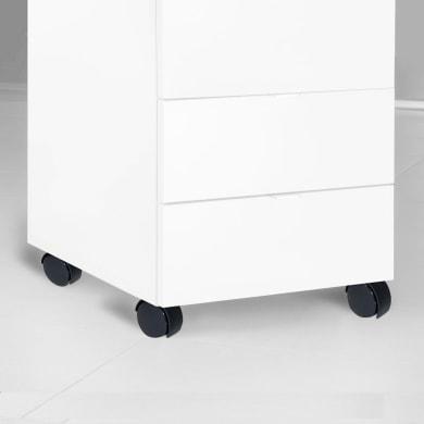 Rotella per mobili EMUCA in acciaio Ø 100 cm  2 pezzi