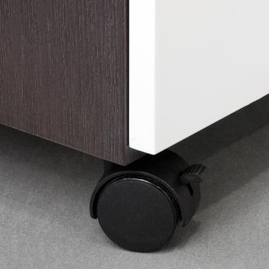Rotella per mobili EMUCA in acciaio Ø 40 cm con freno