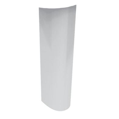 Colonna per lavabo miky new H 69 cm in ceramica bianco