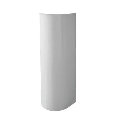 Colonna per lavabo H 69 cm in ceramica bianco